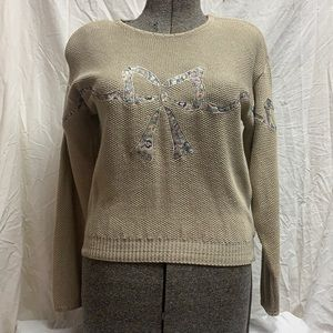 Vintage Chaus Long Sleeve Crew Neck Sweater